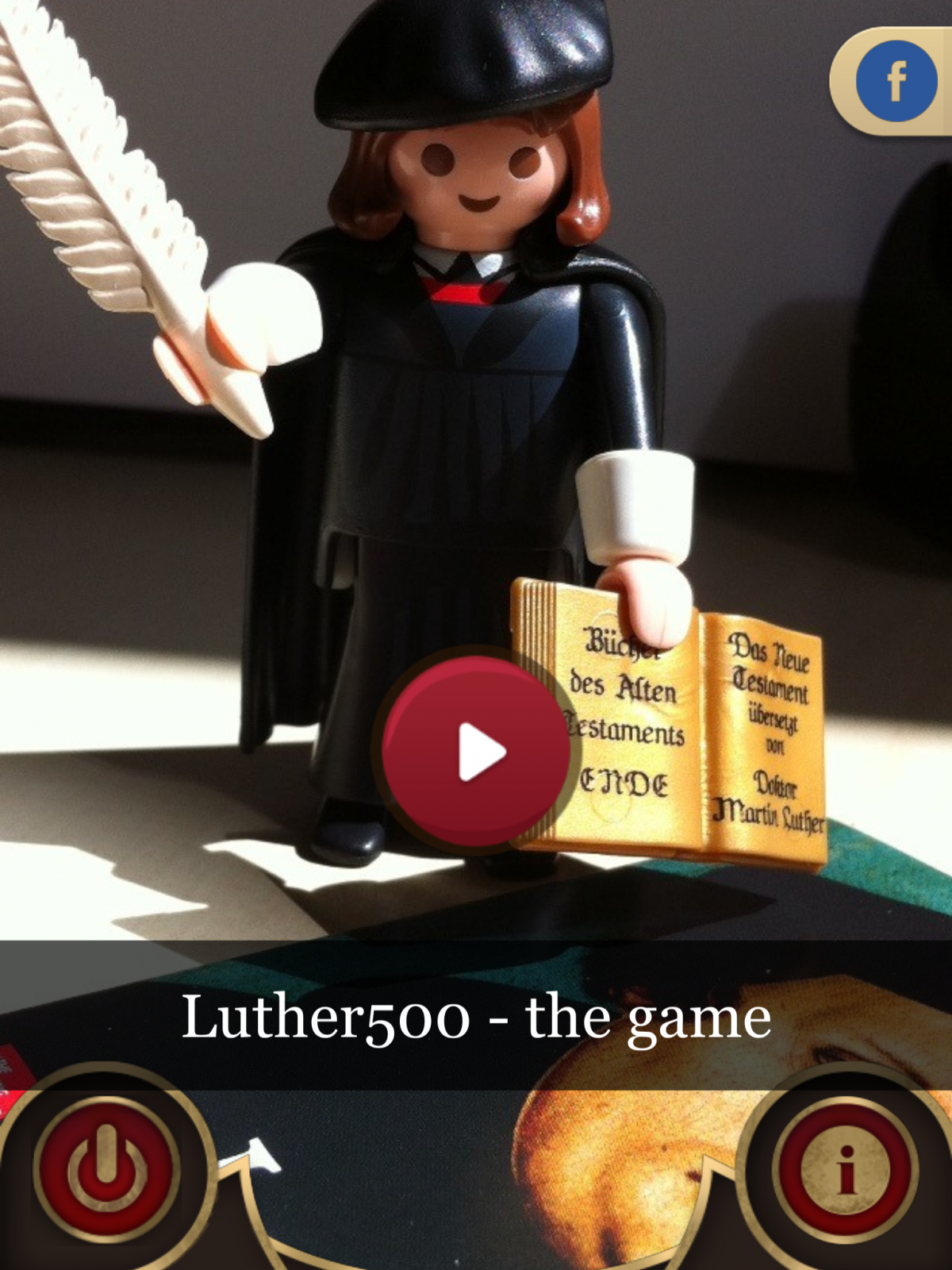 Welkom bij Luther500 – the game